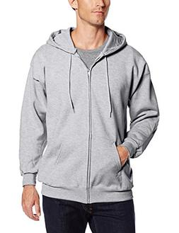 Hanes mens 9.7 oz. Ultimate Cotton 90/10 Full-Zip Hood-Light