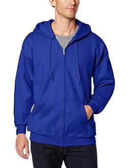 Hanes F280 Ultimate Cotton Fleece Full-Zip Adult Hoodie Size