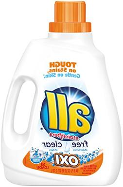 All Ultra Free Clear Oxi Liquid Laundry Detergent, 94.5 Ounc