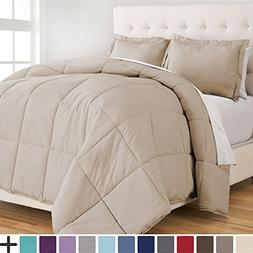 Bare Home Ultra-Soft Premium 1800 Series Goose Down Alternat