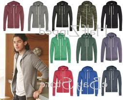 Alternative Unisex Rocky Eco Fleece Full Zip Hooded Sweatshi