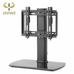 RFIVER Universal Swivel Tabletop TV Stand with Mount for 26""