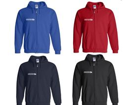 USPS Postal Service Mail Carrier Delivery Full Zip Hoodie Ho