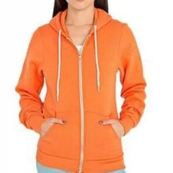 American Apparel Color Wash Hammer Hoodie Washed Navy Thin P