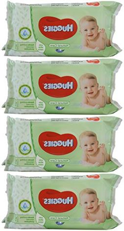 Huggies Baby Wipes Natural Care with Aloe Vera, 56 Count