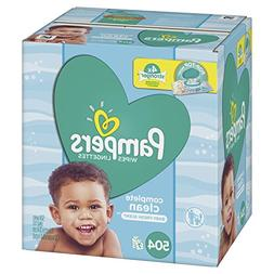 Pampers Baby Wipes Complete Clean Scented 7X Pop-Top Packs,
