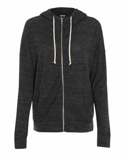 Alternative Womens Eco Jersey Cool Down Hooded Full-Zip Up H
