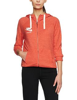 Nike Womens Gym Vintage Full Zip Hoodie Light Crimson/Sail S