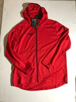 XL NWT Men's Nike Spotlight Basketball Full Zip Hoodie Jacke