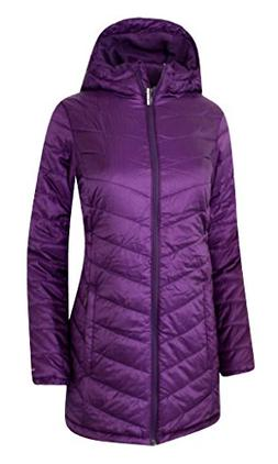 Columbia Youth Girls Morning Light Omni Heat Long Hooded Jac
