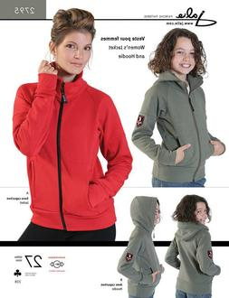 Jalie Zip-Front Jacket & Hoodie 27 Sizes Misses' & Girls' Se