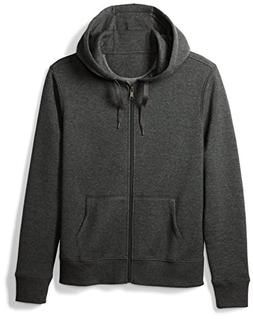 Amazon Essentials Men's Full-Zip Hooded Fleece Sweatshirt, C