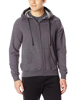 Hanes Men's Full Zip Nano Premium Lightweight Fleece Hoodie,