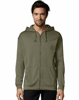 Hanes Zip Up Hoodie Sport Men Performance Fleece lightweight
